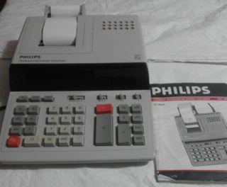 Calculadora con impresión de ticket