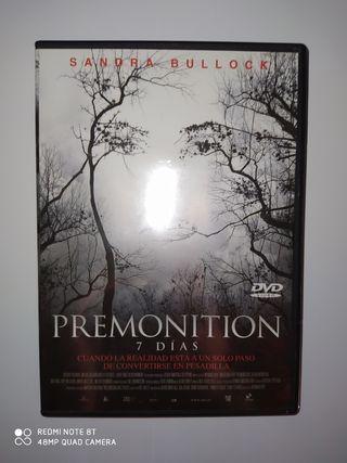 premonition 7 dias DVD