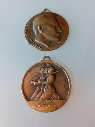 medallas GUERRA civil VICTORIA alzamiento