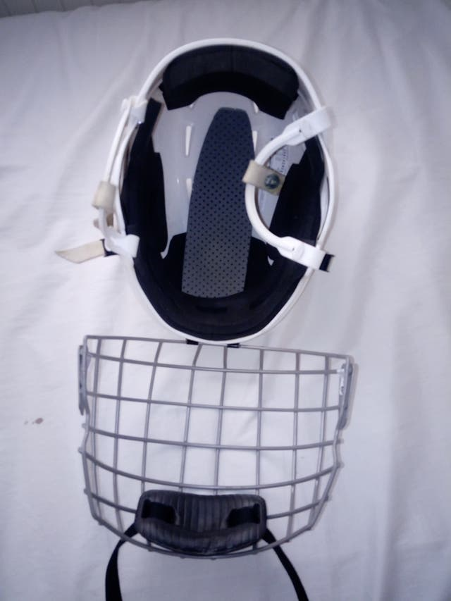 Casco de hockey
