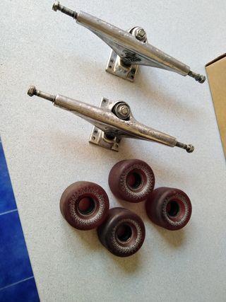 ejes y ruedas