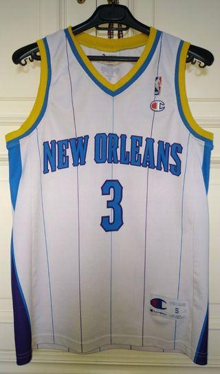 Camiseta Retro New Orleans Hornets Chris Paul