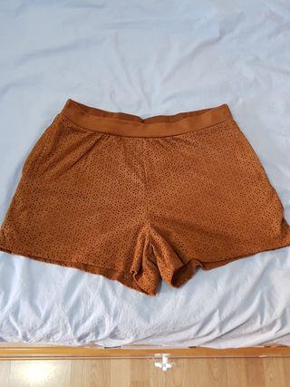 Pantalones cortos marrones mujer Springfield