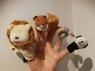 Titelles. Marionetas de dedo