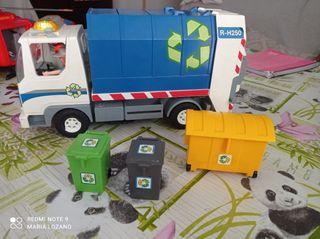Camión de reciclaje de Playmobil