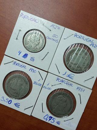 Monedas , varias