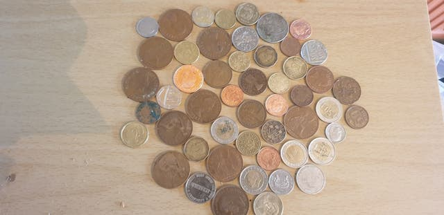 lots of old and special coins