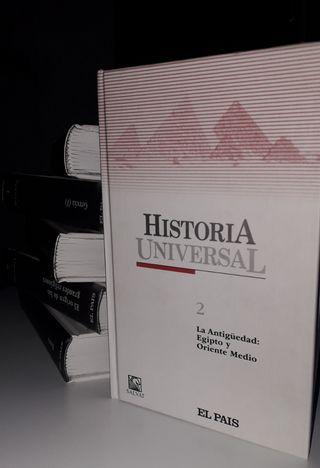Colección libros de historia universal de El País