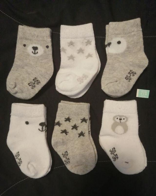 calcetines bebe 2€ unidad
