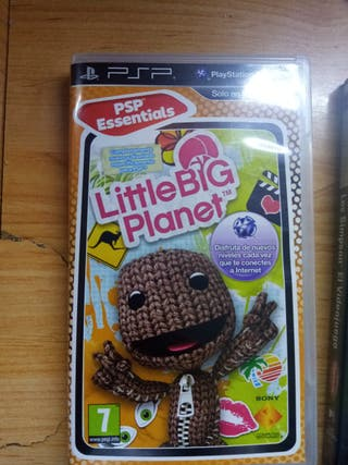 juegos little big planet Y Los Simpson psp