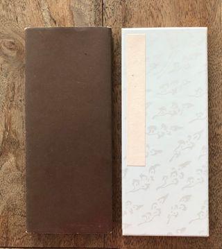 Cahier éventail japonais dit Orihon Vintage