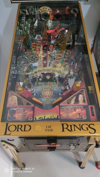 pinball lord of the rings