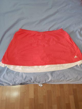 Falda-pantalón Adidas Talla 40 (L)