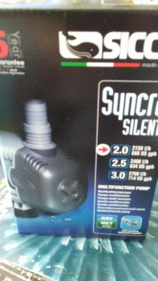 BOMBA SUBIDA SYNCRA SILENT SICCE 2.0