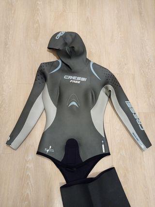 traje apnea de cressi freedive mujer talla 3