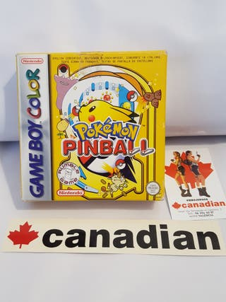 Pokemon Pinball Game Boy Color