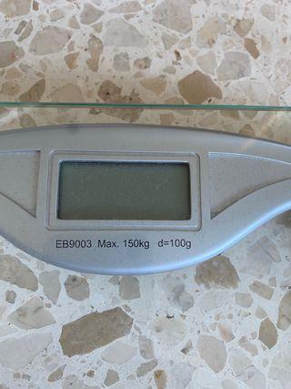 Báscula peso de baño