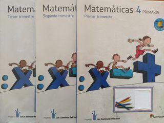 Matemáticas 4 Primaria - Santillana