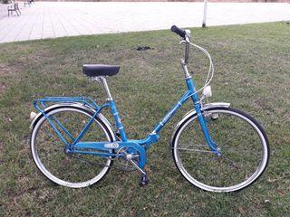 Bicicleta clásica BH plegable.