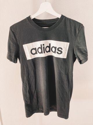 Camiseta con logo Adidas mujer