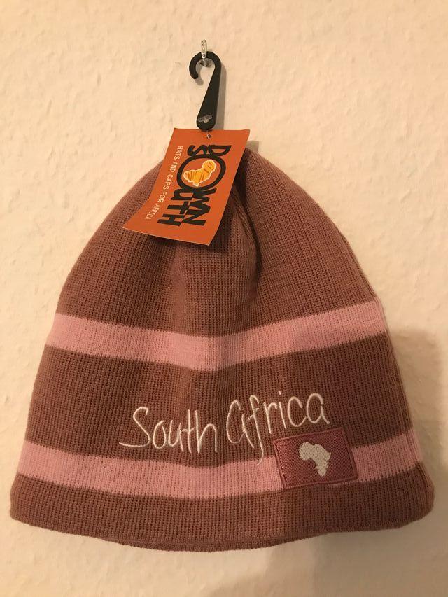 Gorro South Africa rosado