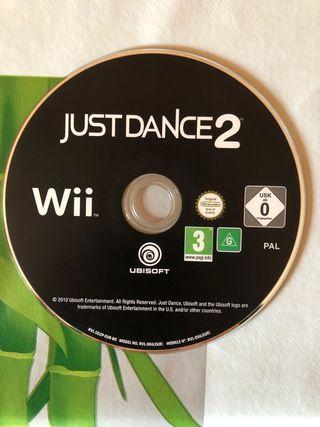 JUST DANCE 2 JUEGO DE LA WII