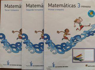 Matemáticas 3 Primaria - Santillana