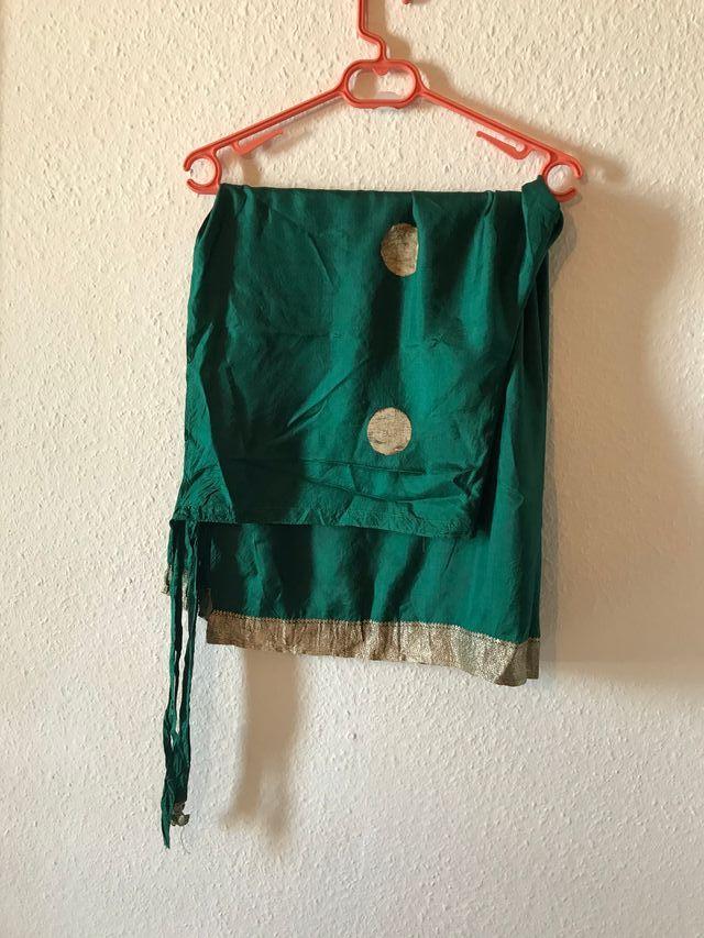 Pantalón étnico indio 100% seda