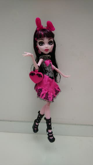 Muñeca Monster high Draculaura Picture Day