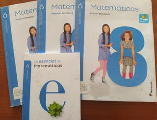 Matemáticas 6 Primaria - Santillana