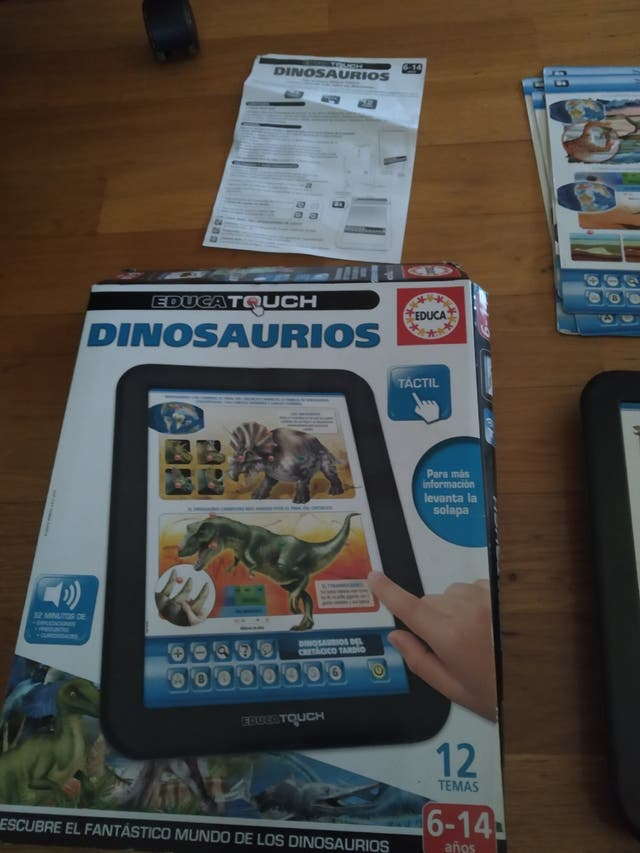 juego interactivo dinosaurios educa