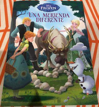 Libro cuento Frozen Una merienda diferente Disney