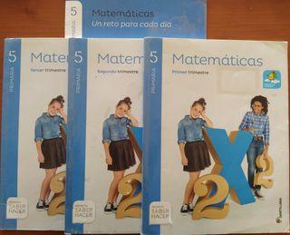 Matemáticas 5 Primaria - Santillana