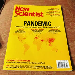 New Scientists Magazine 7 March 2020