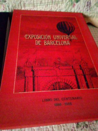 exposición Universal de Barcelona libro del centen