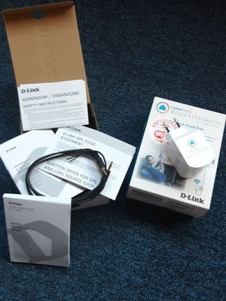 repetidor wifi d-link dch m225