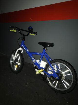 Bici niño policía '16