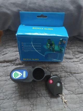 Alarma bici/patinete con mando a distancia