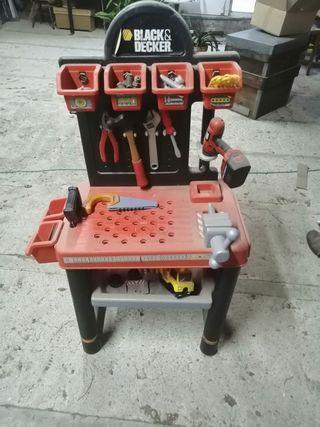 banco de trabajo de juguete