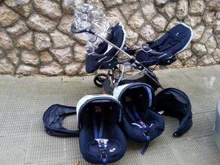 Cochecito gemelar Bebéconfort