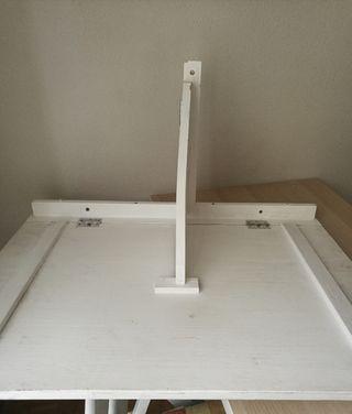 mesa de pared abatible 80 x 53 cm