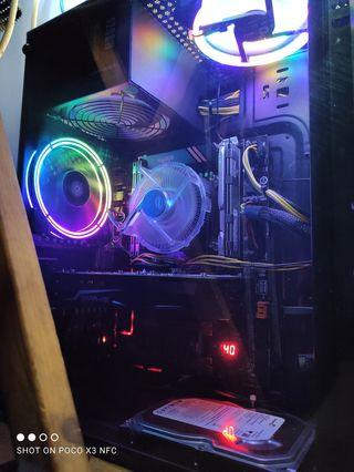 PC Gaming Intel 32GB RAM Gráfica RX560 4GB