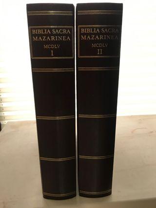Biblia Sacra Mazarinea. Tomos I y II