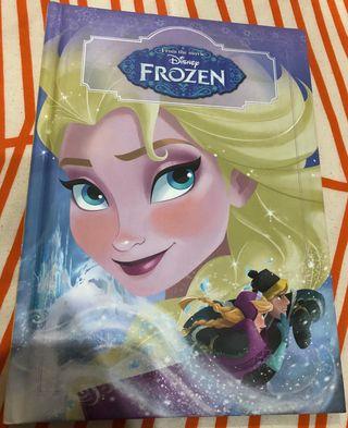 Libro cuento Frozen Elsa Anna Kristoff Olaf Disney