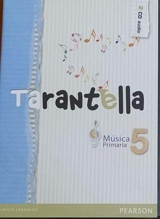 CDs Tarantella - Música 5 Primaria (Pearson)