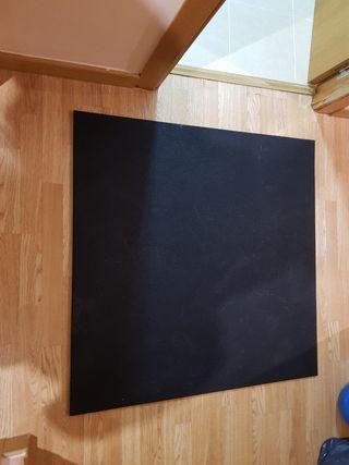 Suelo caucho Crossfit 1m×1m×1cm