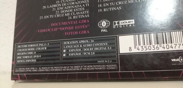 DVD + CD Chenoa Contigo donde estés