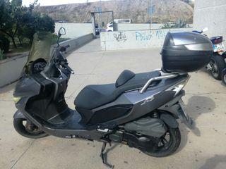 daelim s3 ,125 cc año 2012