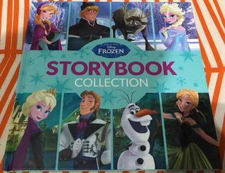 Libro con 6 cuentos de Frozen Elsa Anna Disney