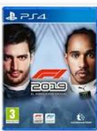 PACK FIFA20 + F1 2019 PS4